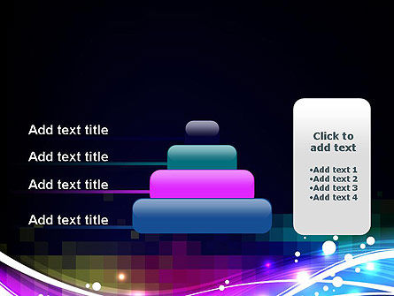 Waves and Gradient Abstract PowerPoint Template Slide 8