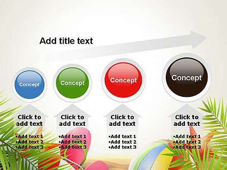 Happy Summer Holiday PowerPoint Template Slide 13