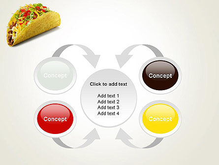 Meal on the Go PowerPoint Template Slide 6