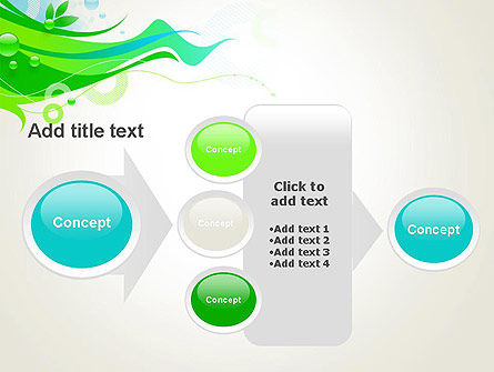 Spring Abstract PowerPoint Template Slide 17