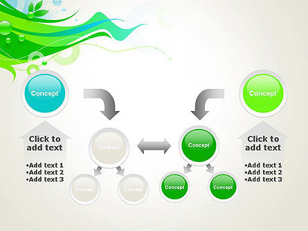 Spring Abstract PowerPoint Template Slide 19