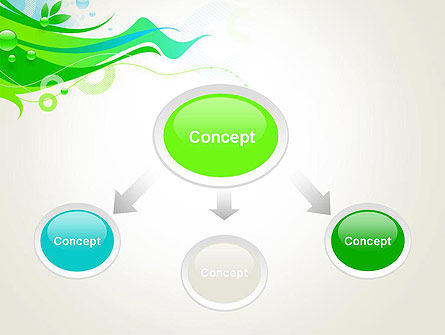 Spring Abstract PowerPoint Template Slide 4