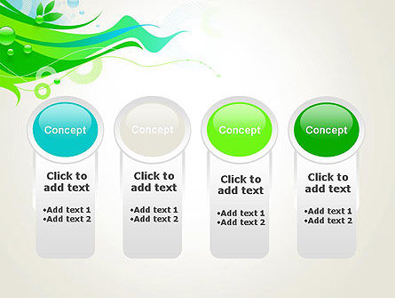 Spring Abstract PowerPoint Template Slide 5