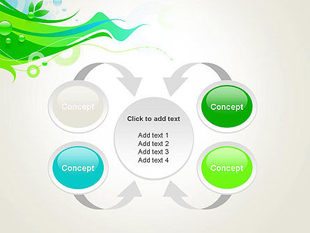 Spring Abstract PowerPoint Template Slide 6