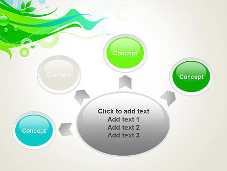 Spring Abstract PowerPoint Template Slide 7