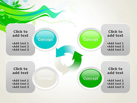 Spring Abstract PowerPoint Template Slide 9