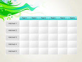 Spring Abstract PowerPoint Template#15