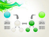 Spring Abstract PowerPoint Template#19
