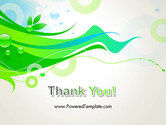 Spring Abstract PowerPoint Template#20