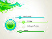 Spring Abstract PowerPoint Template#3