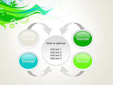 Spring Abstract PowerPoint Template#6