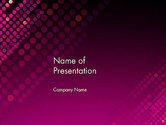 Abstract/Textures: Diagonal Dots Abstract PowerPoint Template #14040