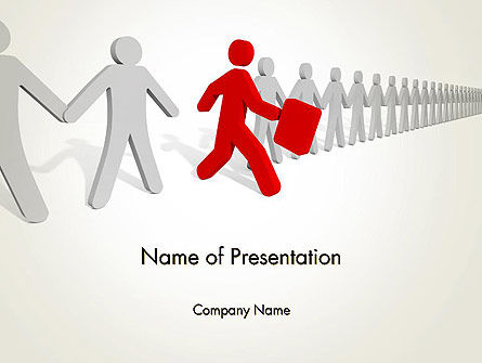 Careers/Industry: Proactive Leadership PowerPoint Template #14041