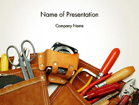 Home Maintenance PowerPoint Template