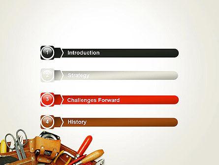 Home Maintenance PowerPoint Template, Slide 3, 14045, Utilities/Industrial — PoweredTemplate.com