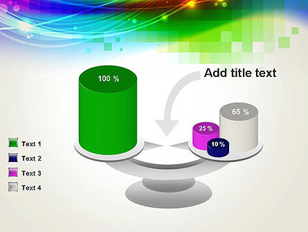 Music Visualizer Abstract PowerPoint Template Slide 10
