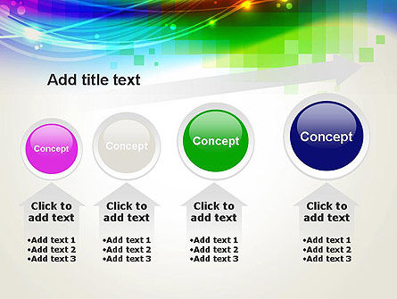 Music Visualizer Abstract PowerPoint Template Slide 13