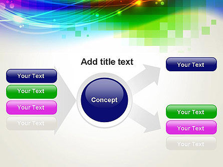 Music Visualizer Abstract PowerPoint Template Slide 14