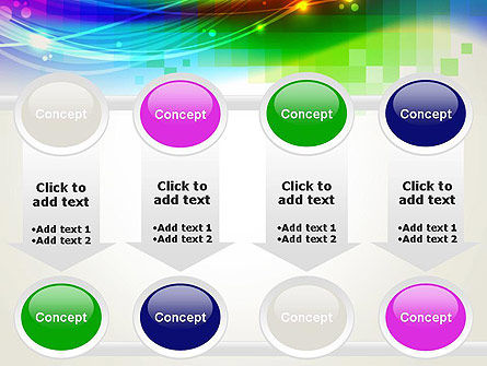 Music Visualizer Abstract PowerPoint Template Slide 18