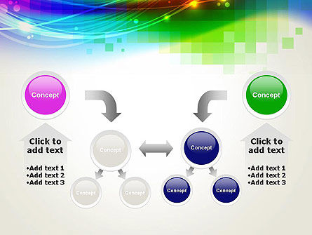 Music Visualizer Abstract PowerPoint Template Slide 19