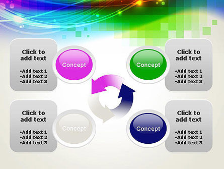 Music Visualizer Abstract PowerPoint Template Slide 9
