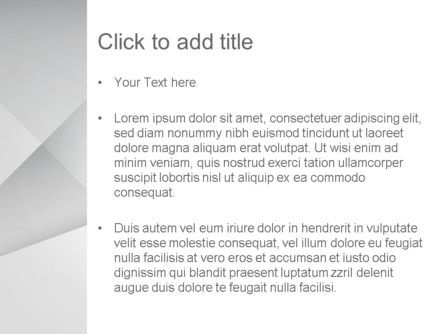 Gray Box-Check Abstract PowerPoint Template, Slide 3, 14049, Abstract/Textures — PoweredTemplate.com