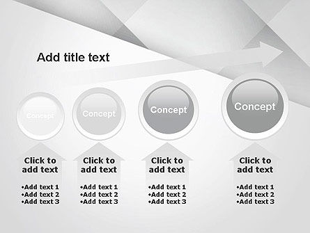Gray Box-Check Abstract PowerPoint Template Slide 13