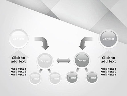 Gray Box-Check Abstract PowerPoint Template Slide 19