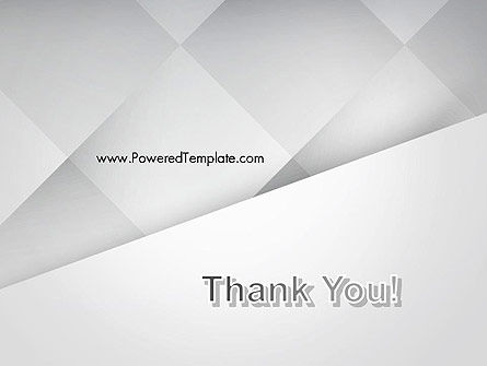 Gray Box-Check Abstract PowerPoint Template Slide 20