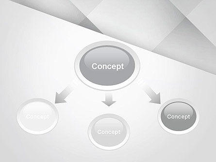 Gray Box-Check Abstract PowerPoint Template Slide 4