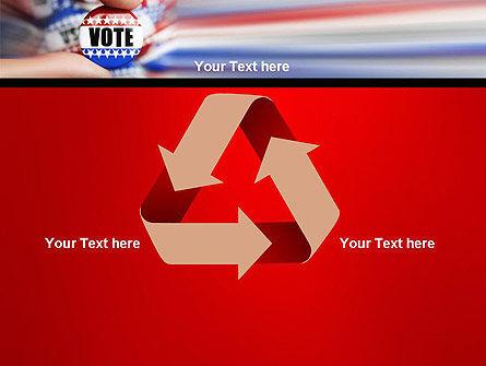 Vote Badge PowerPoint Template Slide 10