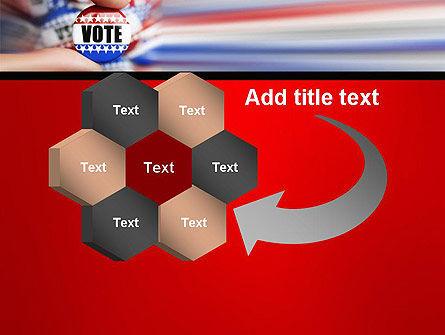 Vote Badge PowerPoint Template Slide 11