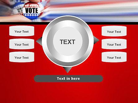 Vote Badge PowerPoint Template Slide 12
