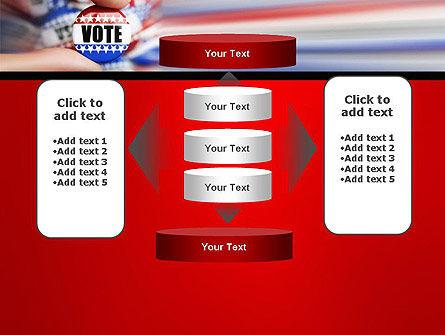 Vote Badge PowerPoint Template Slide 13