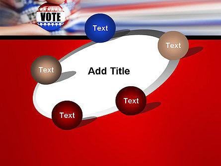 Vote Badge PowerPoint Template Slide 14