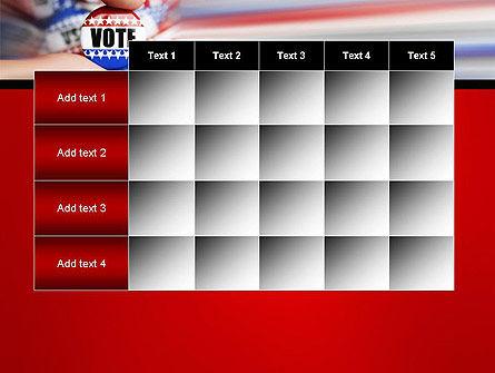 Vote Badge PowerPoint Template Slide 15