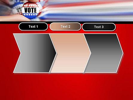 Vote Badge PowerPoint Template Slide 16