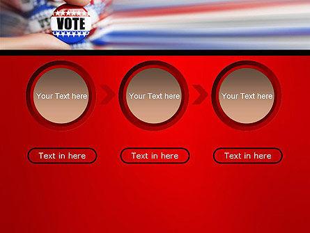 Vote Badge PowerPoint Template Slide 5