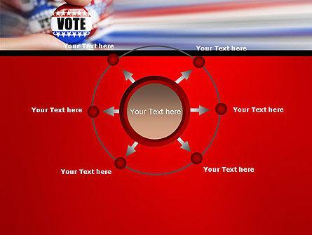 Vote Badge PowerPoint Template Slide 7