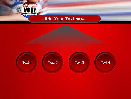 Vote Badge PowerPoint Template Slide 8