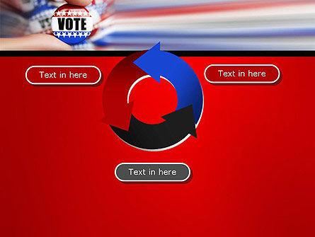 Vote Badge PowerPoint Template Slide 9