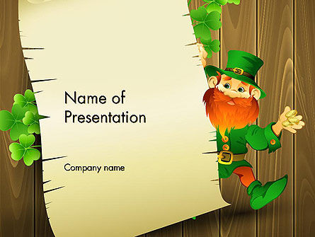 Saint Patrick's Day PowerPoint Template, 14052, Holiday/Special Occasion — PoweredTemplate.com