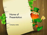 Holiday/Special Occasion: Saint Patrick's Day PowerPoint Template #14052