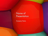 Abstract/Textures: Bubbles Closeup Abstract PowerPoint Template #14054