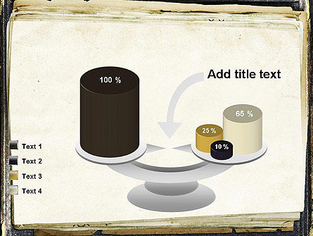 Old Notebook PowerPoint Template Slide 10