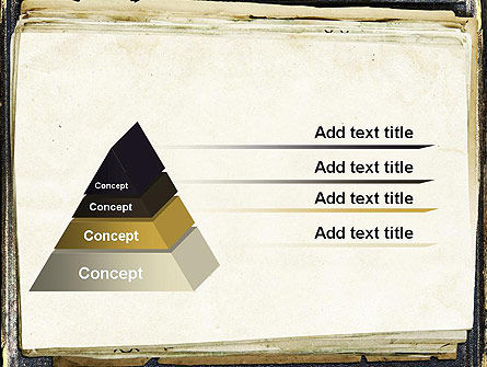 Old Notebook PowerPoint Template Slide 12