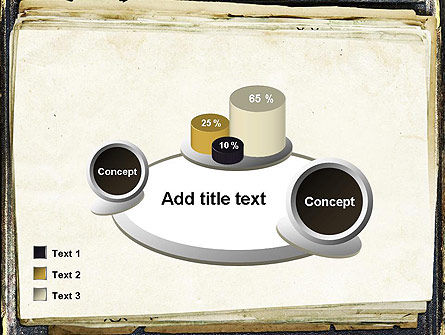 Old Notebook PowerPoint Template Slide 16