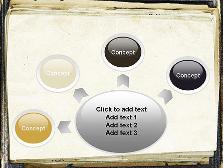 Old Notebook PowerPoint Template Slide 7