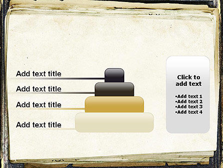 Old Notebook PowerPoint Template Slide 8