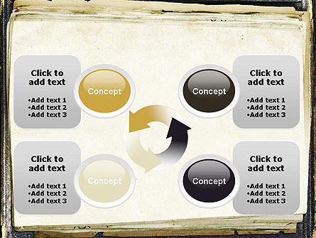 Old Notebook PowerPoint Template Slide 9